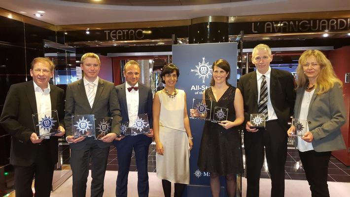 « All Stars of the Sea » : MSC Cruises récompense ses meilleurs partenaires / MSC Croisières accueille pendant 5 jours, les acteurs mondiaux du tourisme a bord du MSC Fantasia