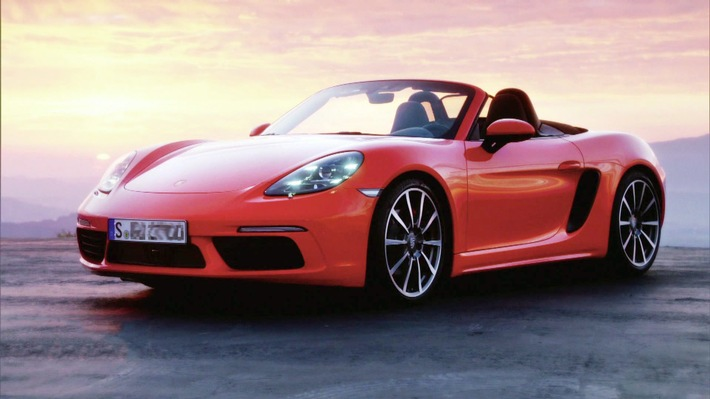 """GRIP - Das Motormagazin: """"Der neue Porsche 718 Boxster"""""""