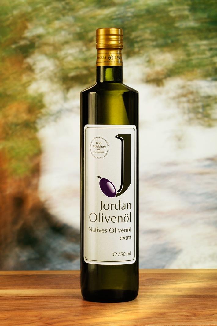 Gold für Jordan Olivenöl beim 1. DLG Speiseöltest