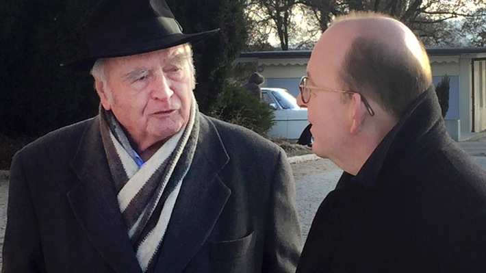 """SWR ehrt Martin Walser zum 90. Geburtstag / Dokumentation """"Unterwegs mit Martin Walser - Mein Diesseits"""", 18. März, 21:55 Uhr im SWR Fernsehen"""