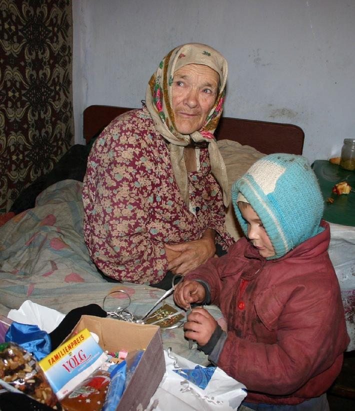 Aktion Weihnachtspäckli / Weihnachtsfreude: 94'000 Pakete für Osteuropa