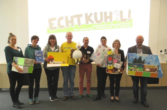 ECHT KUH-L!: 42 Preisträger beim bundesweiten Schülerwettbewerb ausgewählt