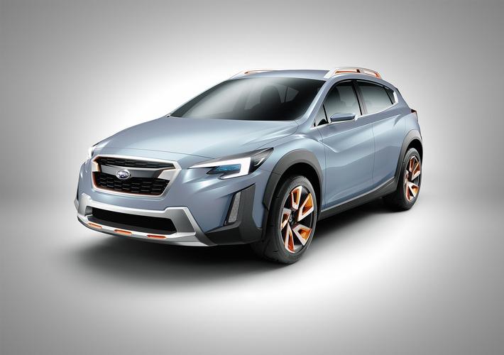 Subaru XV Concept debütiert auf dem Genfer Autosalon