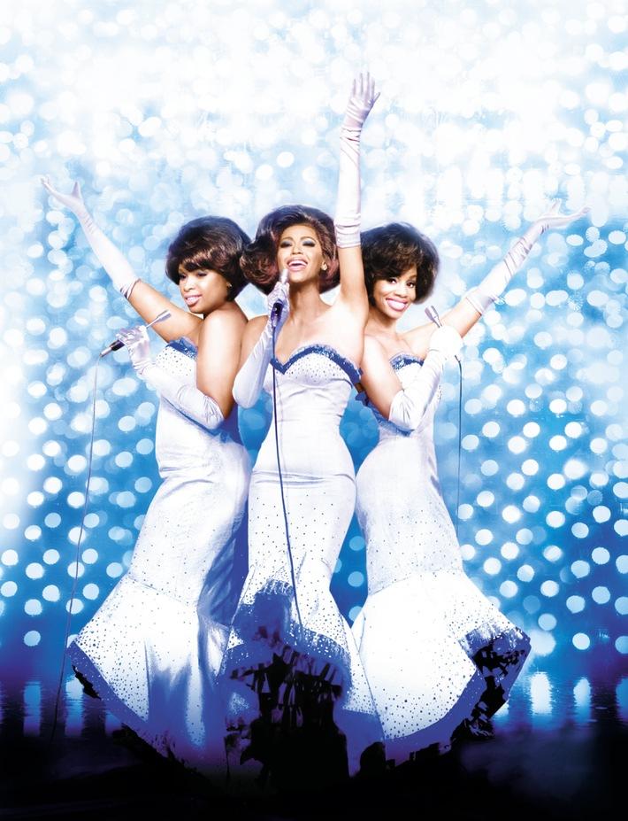 """Dreamgirls/Dreamboys: Free-TV-Premiere """"Dreamgirls"""" und Exklusivinterview mit den Bee Gees in """"NUMBER ONE!"""" am Mittwoch bei kabel eins"""