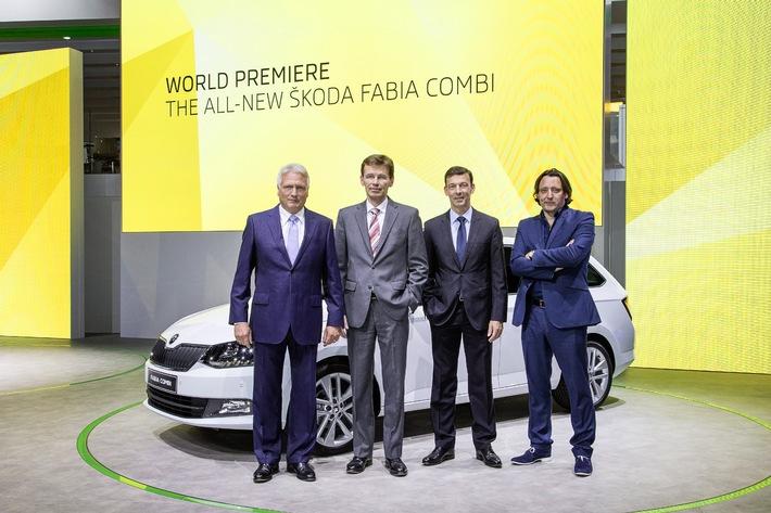 Emotionen an der Seine: Neuer SKODA Fabia und Fabia Combi feiern Weltpremiere