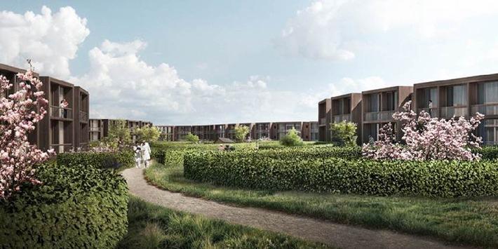 Herzog & de Meuron remporte un concours international pour la construction d'un hôpital central au Danemark