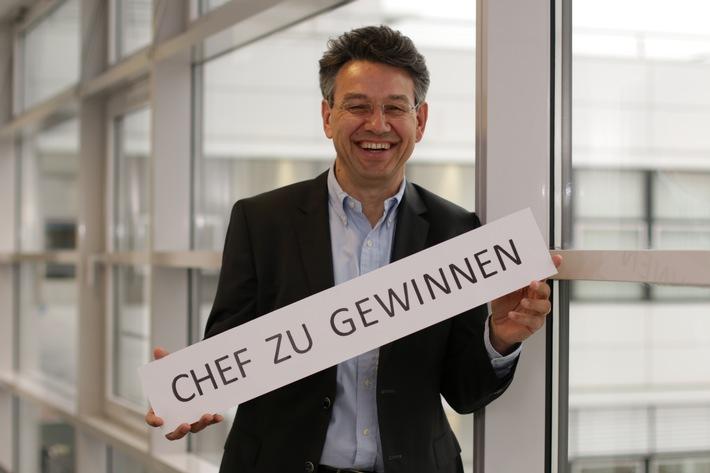 Handelsblatt-Aktion mit E.ON / Schulklassen aufgepasst: Gewinnt E.ON-Chef Uwe Kolks!