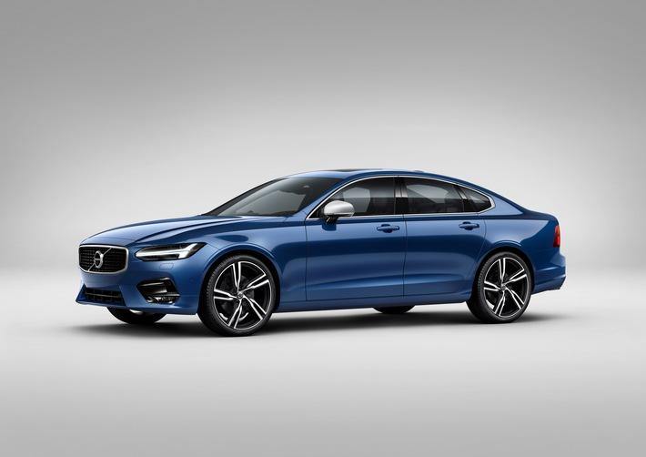 Sportlicher Luxus: Volvo S90 und Volvo V90 ab sofort als R-Design Version beim Händler