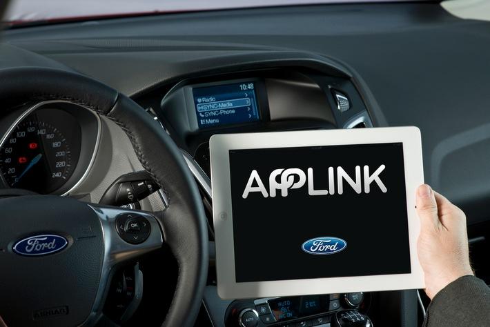 Toyota übernimmt Ford Software SmartDeviceLink - weitere Hersteller und Zulieferer wollen nachziehen
