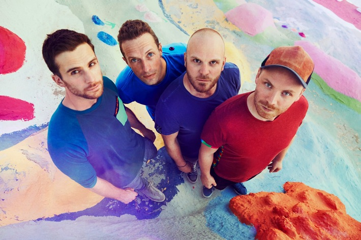 COLDPLAY Silvesterkonzert in Abu Dhabi