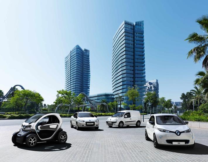 Renault Nummer 1 bei Fahrzeugen mit Batteriebetrieb - Bereits 550 Elektrofahrzeuge schweizweit verkauft