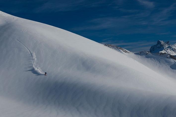 """Freeski im Vormarsch auch bei Schweizer Snowboard Hersteller und Snowboard Pionier """"Radical"""""""