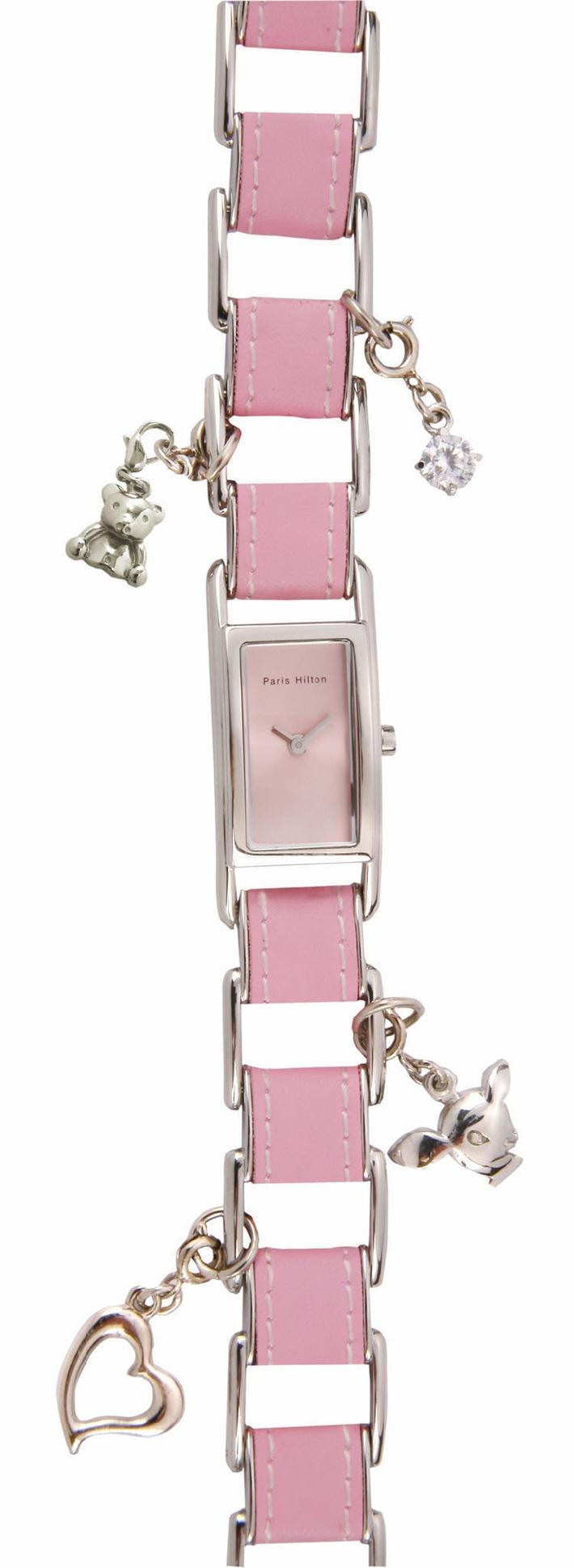 Paris Hilton lance sa propre collection de montres - féminine, sexy et séduisante