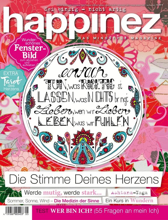 """Herman van Veen in Happinez: """"Wenn du nicht weißt, was danach kommt, musst du jetzt, jetzt, jetzt glücklich sein."""""""