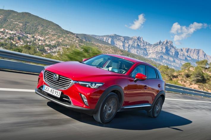 Mazda CX-3 - So schön und innovativ kann ein kleiner Crossover-SUV sein