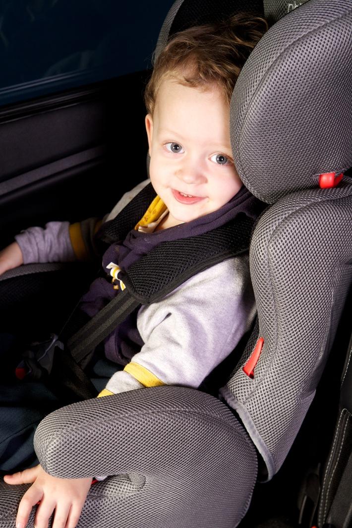 Embargo 23.05 0500 - Test TCS de sièges d'enfants: d'excellent à insuffisant  Les substances nocives analysées pour la première fois