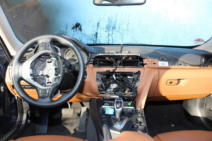 AUTO BILD-Report: BMW-Modelle Nummer eins beim Navi-Klau