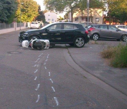 POL-PDLU: Frankenthal - Erneut schwerverletzter Zweiradfahrer nach Unfall: