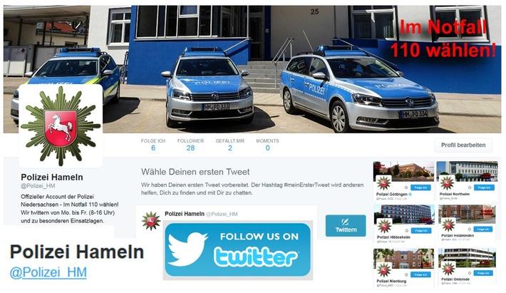 POL-HM: #Polizei #Hameln und #Holzminden twittern