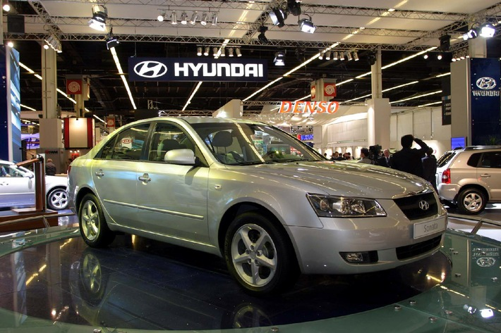 Hyundai Sonata beim Mondial de l'Automobile in Paris vorgestellt