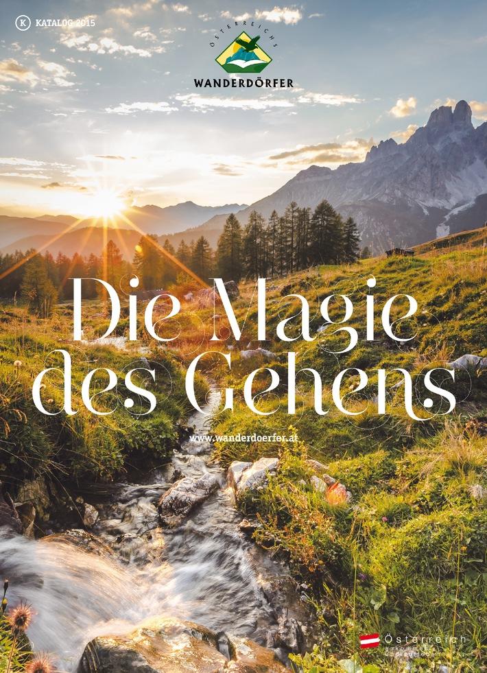 """Österreich Schritt für Schritt entdecken - Österreichs Wanderdörfer und die """"Magie des Gehens"""""""