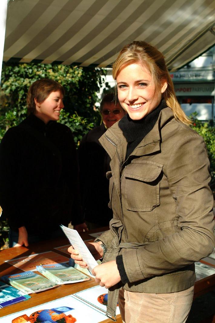 Fiona Hefti Botschafterin am Welt-Psoriasis-Tag