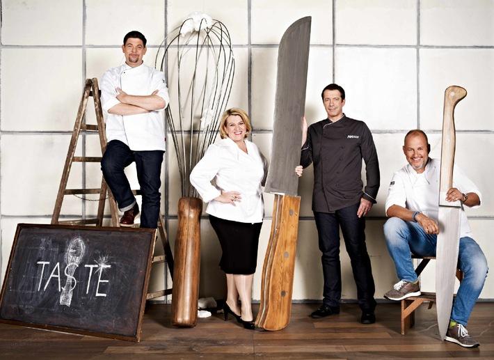 """Jetzt werden die Messer gewetzt! Die zweite Staffel von Deutschlands größter Koch-Show """"The Taste"""" startet nächsten Mittwoch in SAT.1"""