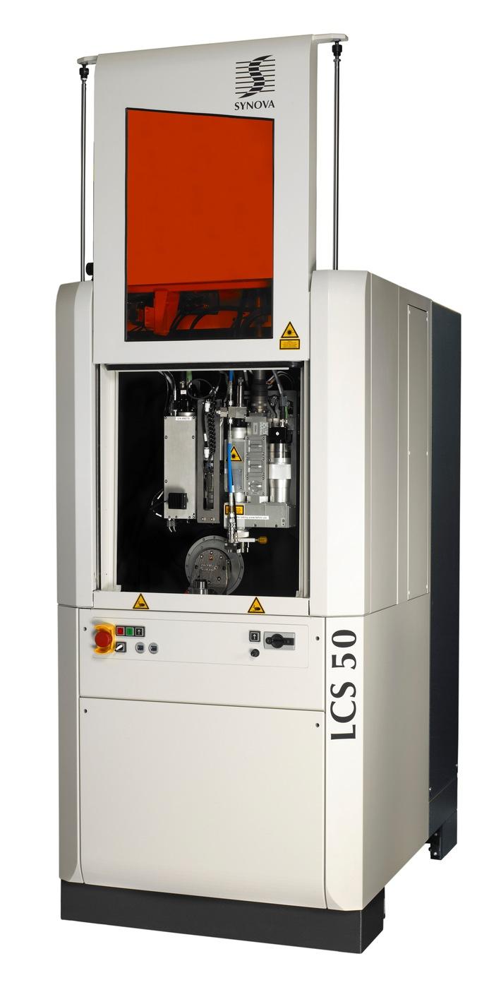 Synova ergänzt seine LCS 50 mit 5 Achsen zur automatischen Produktion von Diamantwerkzeugen um umfassendes Software-Paket