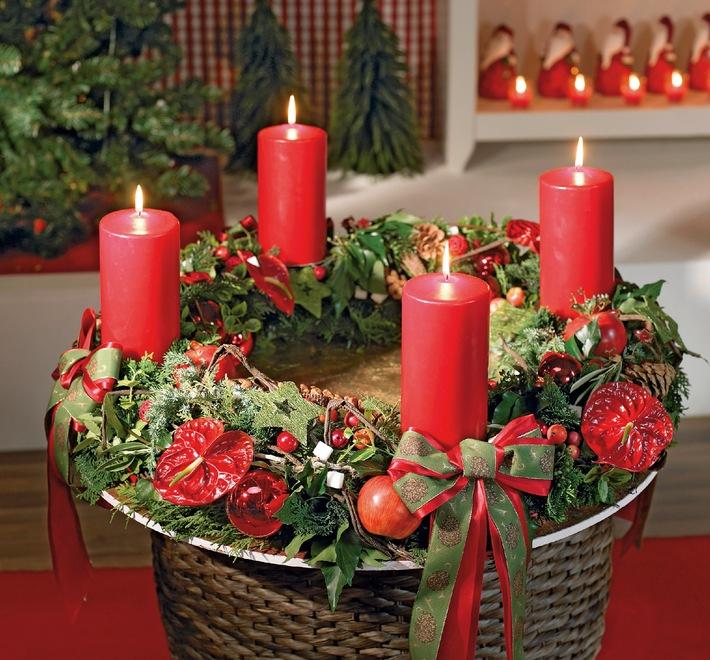 """Nachfrage nach selbstverlöschenden Kerzen im Advent 2013 weiter gestiegen / Patentierte Funktion des """"selbständigen"""" Verlöschens ist eine technische Innovation, die Ästhetik mit Sicherheit verbindet."""