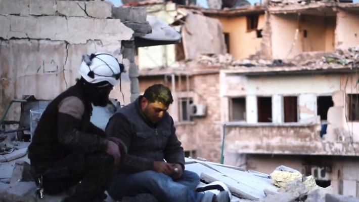 "Sundance Film Festival 2017: Preis für SWR Koproduktion Grand Jury Prize für ""Last Men in Aleppo"" in der Kategorie ""World Cinema Documentary"""