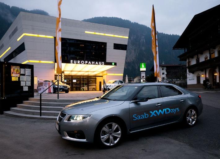SAAB XWDays 2011 bewegen Mayrhofen