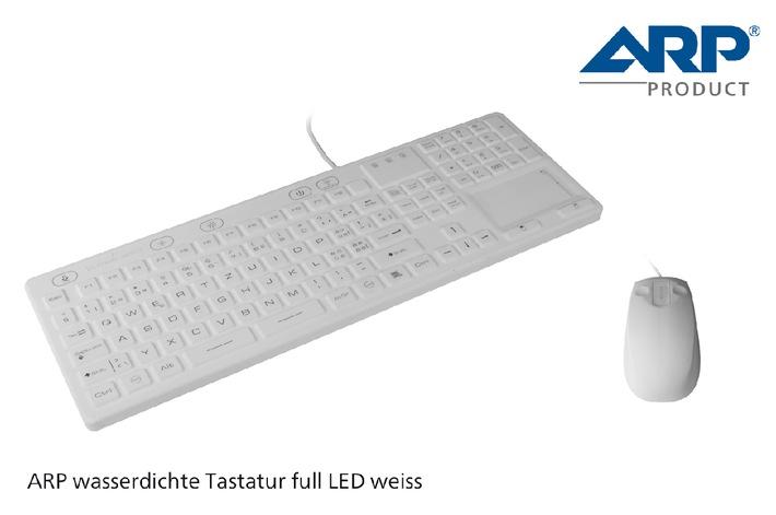 Die neue ARP Tastatur für besondere Arbeitsplätze