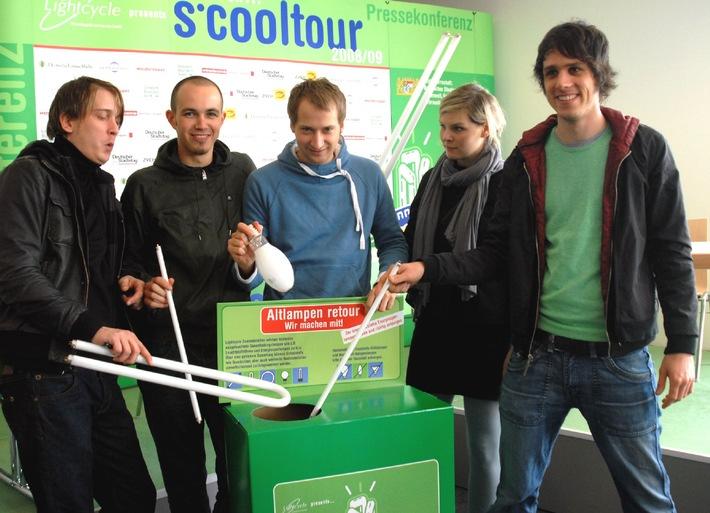 Schulkonzert mit der Kultband JULI zu gewinnen: Bayerischer Umweltminister Dr. Otmar Bernhard gibt Startschuss zu bundesweitem Klimaschutz-Schulwettbewerb 2008/09