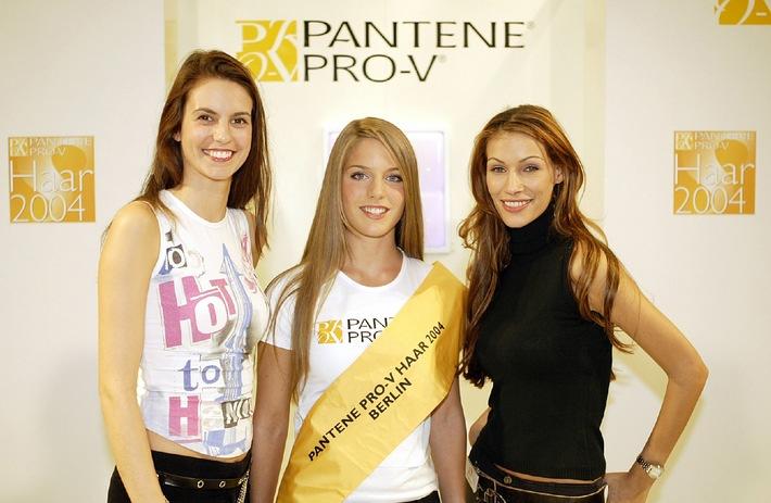 """""""Das Pantene Pro-V Haar 2004"""" / Fünf Bewerberinnen schafften am Samstag beim großen Casting in Berlin den Sprung in die Finalrunde!"""