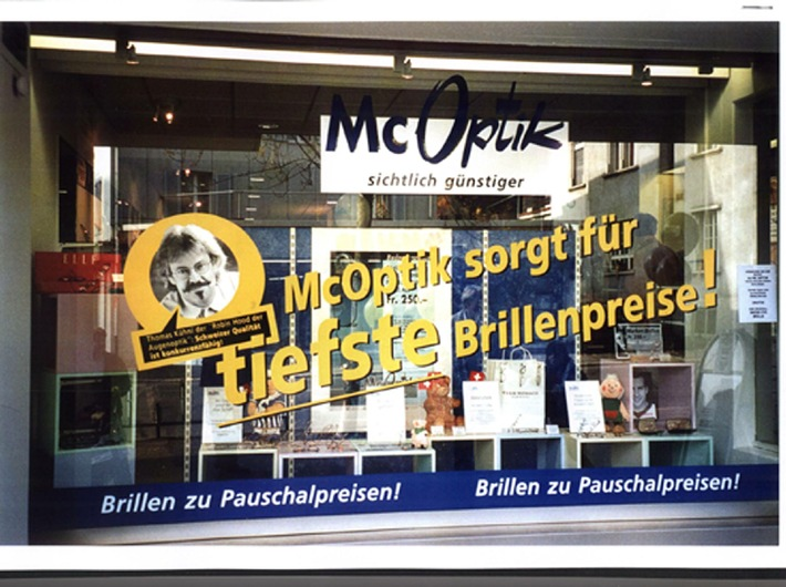 """""""BILANZ"""" wählt McOptik zu einer der 50 besten KMU der Schweiz - Dank Brille zum Pauschalpreis erfolgreich"""