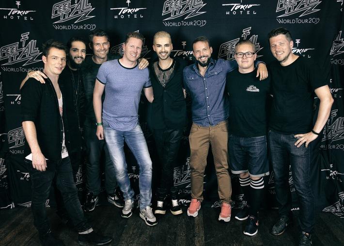 Tokio Hotel unterschreiben internationale Kooperation mit Studio71 -Neues Album erscheint 2016