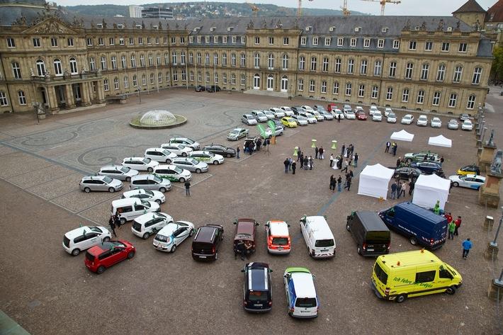 Sternfahrt in Stuttgart - Petition fordert Unterstützung für Erdgasfahrzeuge
