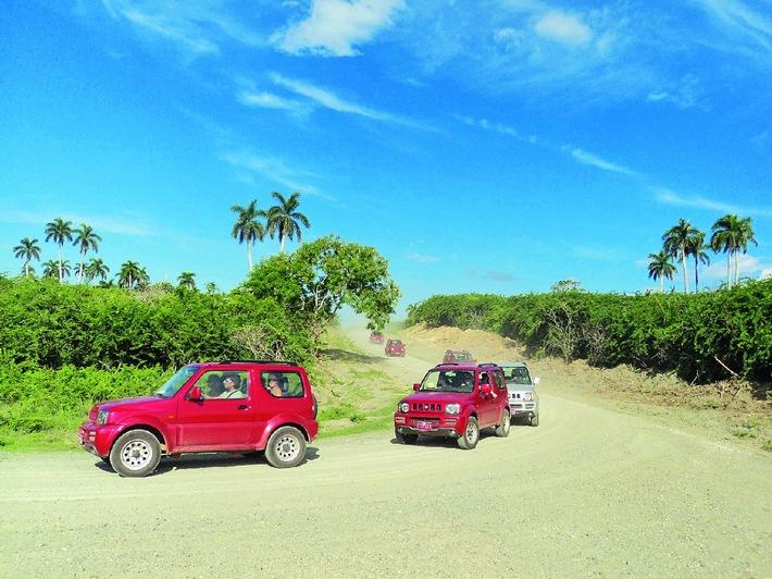 Neue Jeep Safari auf Kuba - alltours baut Angebot für Rundreisen in der Karibik weiter aus / Zwölf Rundreisen in Mexiko, Thailand, auf Sri Lanka, Kuba und Bali