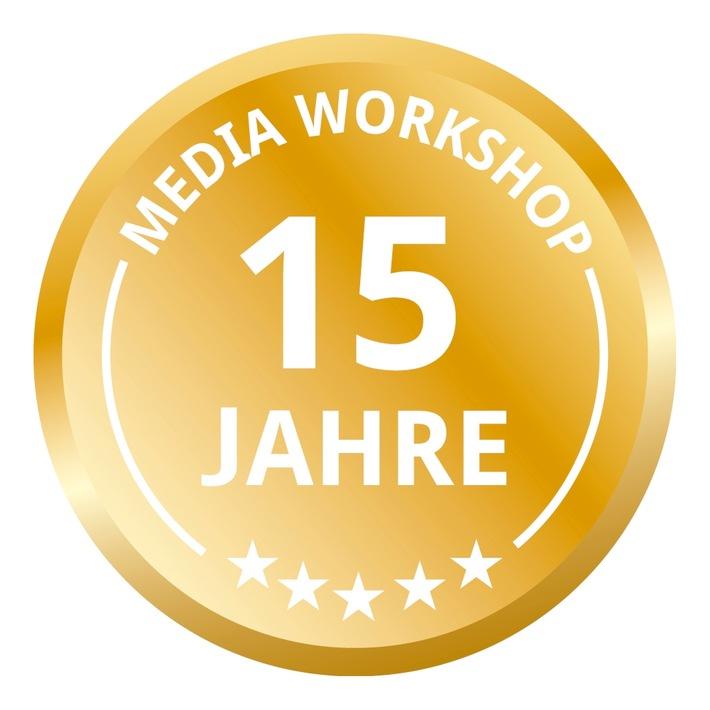 15 Jahre Media Workshop - Hamburgs führender Seminaranbieter für Pressearbeit, PR und Marketing feiert Jubiläum