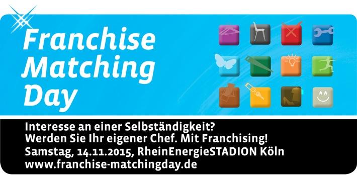 Die Selbstständigkeit ruft - beim 3. Franchise Matching Day in Köln