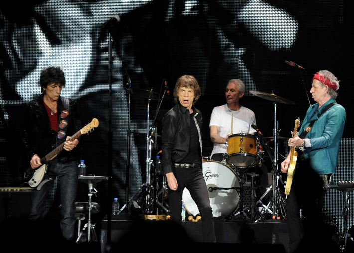 Rolling Stones live in Concert auf Sky Select