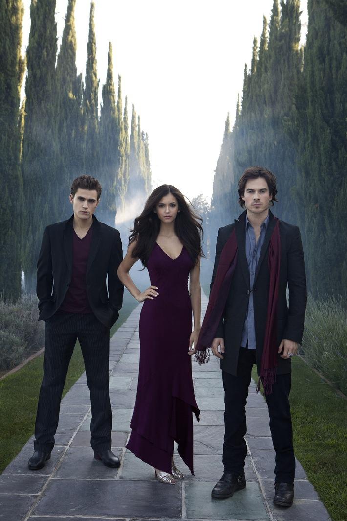 """Neuer US-Serienhit """"Vampire Diaries"""" ab 20. Januar 2010, um 21.15 Uhr, als Deutschland-Premiere auf ProSieben"""