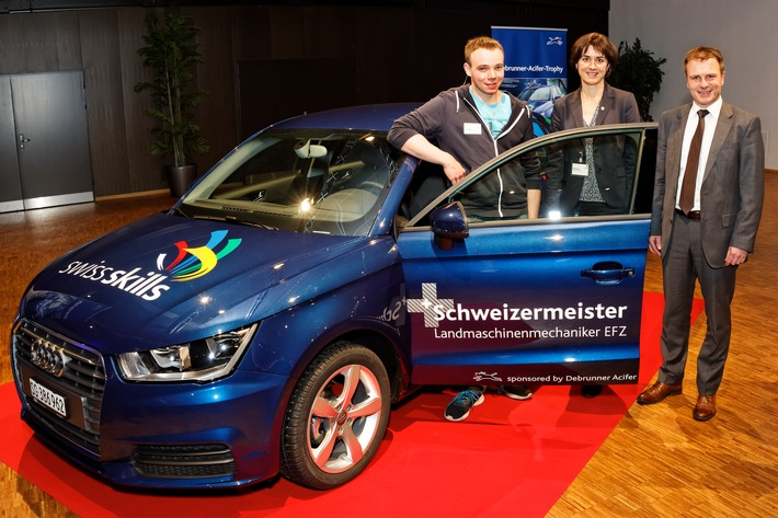 Solothurner Landmaschinenmechaniker Maurice Häner gewinnt die Debrunner Acifer Trophy