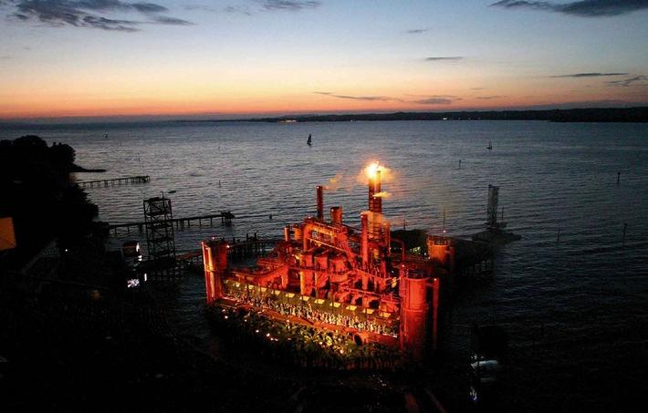 Halbzeit bei den Bregenzer Festspielen: Feuriger 'Troubadour' begeistert Publikum