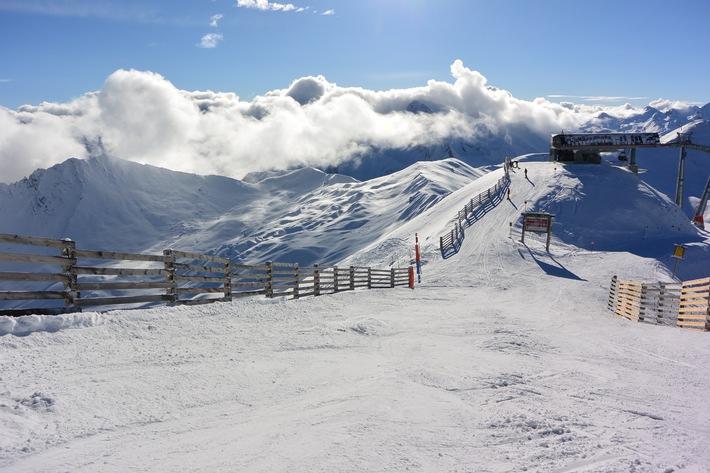 Start in die Skisaison: Schneebericht aus Ischgl vom 3.12.2014 - VIDEO / BILD