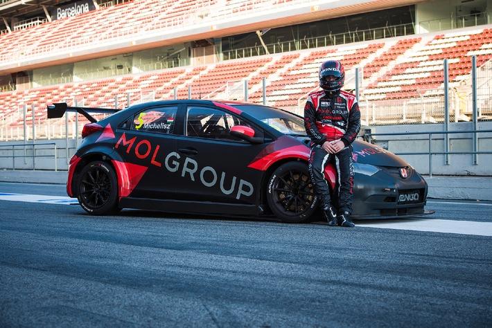 MOL Group wird Titelsponsor des WTCC Rennens in Ungarn 2015