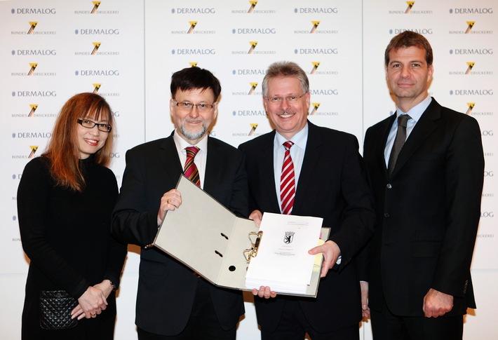 Bundesdruckerei beteiligt sich am Biometrie-Spezialisten  Dermalog