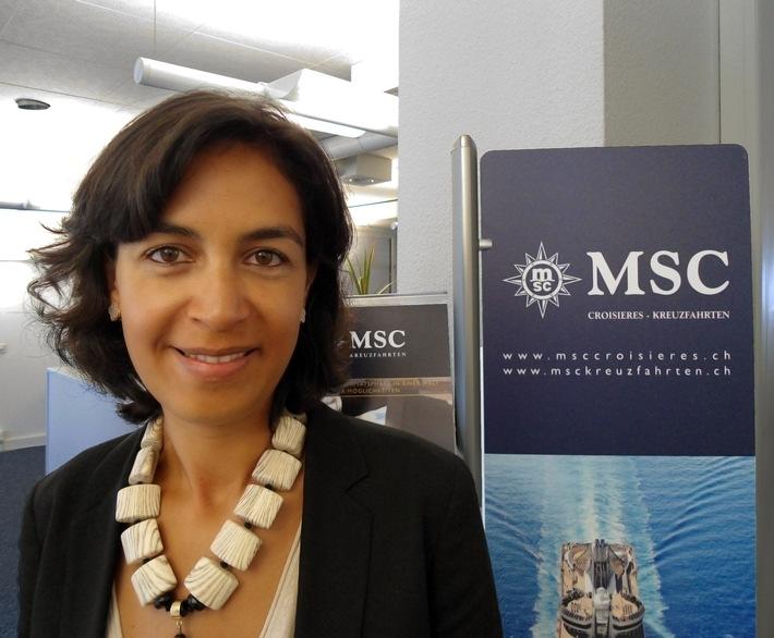Importante nomination au sein de l'èquipe de direction de MSC Croisières / Sylvie Boulant nommée Country Manager Suisse