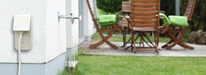 Mit RWE SmartHome entspannt durch die Gartensaison