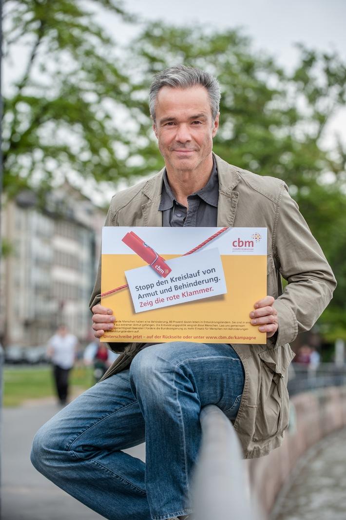 Hannes Jaenicke unterstützt CBM-Kampagne